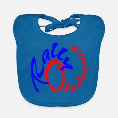 Rally Obedience Rally obedience design for dog sport with dog - Baby Bib
