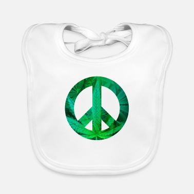 Hemp peace with Hemp - Baby Bib