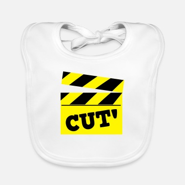 Cut film cutting board cut! - Baby Bib