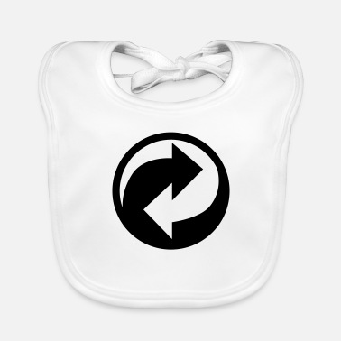 Recycling recycle recycling - Baby Bib