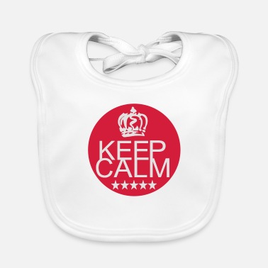 Keep Calm keep calm - Lätzchen