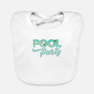 Pool Pool Party - Bavoir Bébé