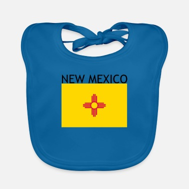 New Mexico US flag gift idea - Baby Bib