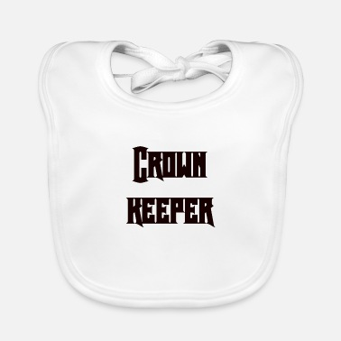 Keeper Crown keeper - Baby Bib