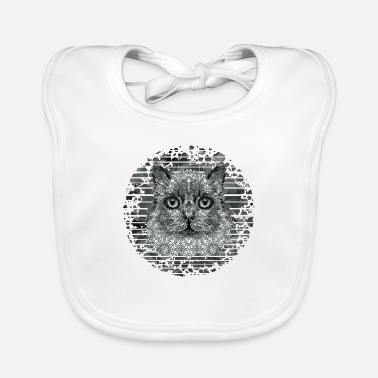 Animal Cat - Baby Bib