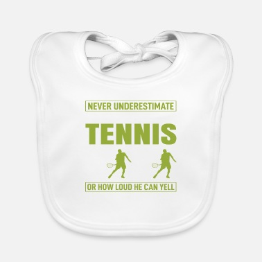 Never Underestimate The - Baby Bib