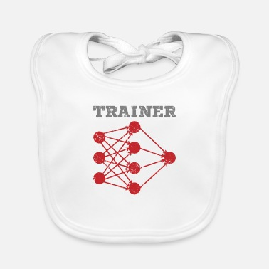 Intelligent Trainer Gift Computer Science Data Science - Baby Bib