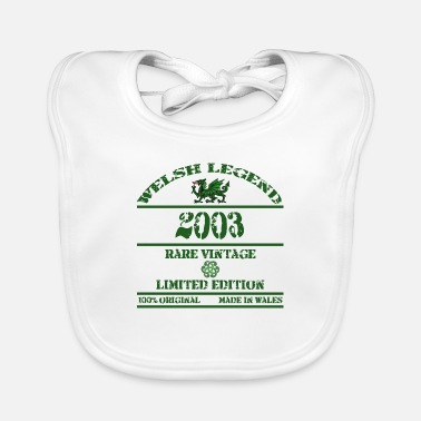 Rugby A Welsh Legend 2003 - Baby Bib