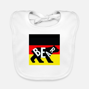 Spree bear Germany - Baby Bib