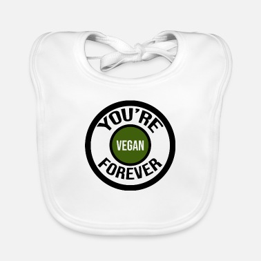 Exploitation you're vegan forever - Baby Bib
