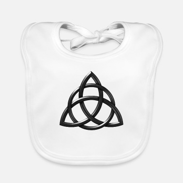 Celtic Knot Rough Chisell - Baby Bib