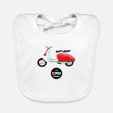 Vintage Collection V2 Vintage - Lambretta 3D - Baby Bib