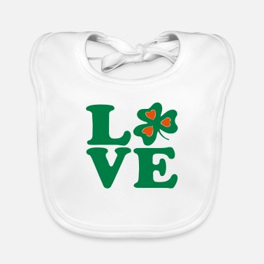 Most Bucket List Languages To Learn People To Meet And Fall In Love Countries To Visit And Travel To ♥ټ☘I Love Irish-Ireland-Happy St Patty's Day☘ټ♥ - Baby Bib