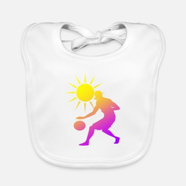 Rebound Best basketball player in a basketball team - Baby Bib