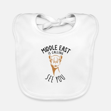 Middle East Middle East Is Calling - Baby Bib