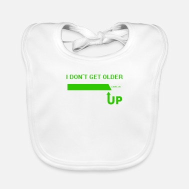 Gamer 20th Birthday-I Don't Get Older I Level Up - Baby Bib