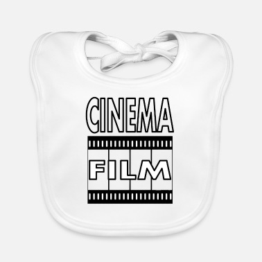 Cinema Film cinema cinema - Baby Bib