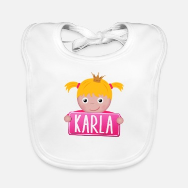Karla Little Princess Karla - Baby Bib