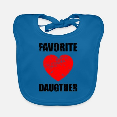Daughter Daughters, love, daughter, daughter-in-law, darling - Baby Bib