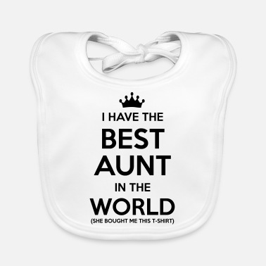 Tante i have the best aunt in the world - Slabbetje