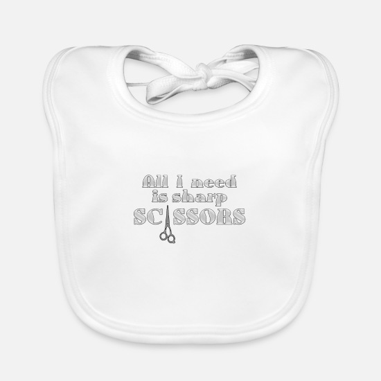 Birthday Baby Clothes - sharp - Baby Bib white