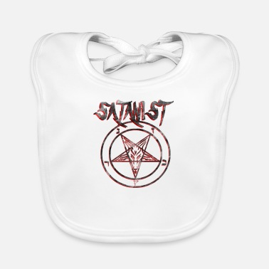Satanists The Satanist is on the way - Baby Bib