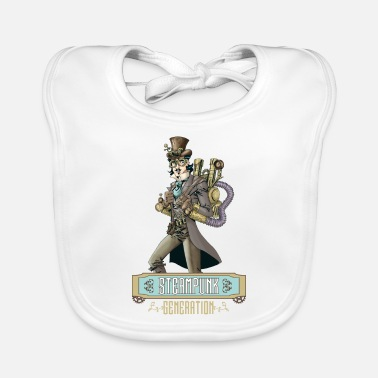 Vintage Collection V2 steampunk generation - Baby Bib