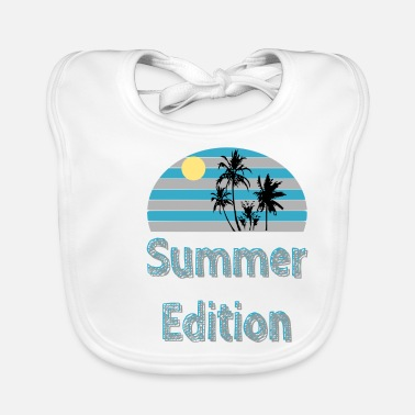 Beach Summer Edition - summer / trend / cool - Baby Bib