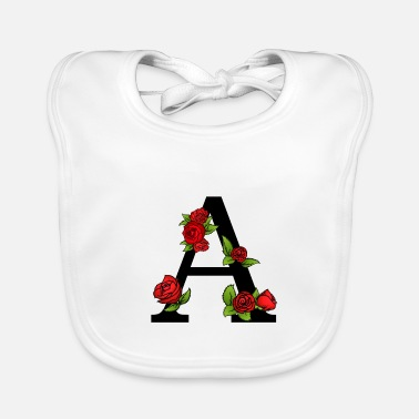 My Name My name is A - Baby Bib