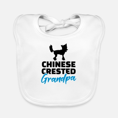Crested Chinese crested - Baby Bib