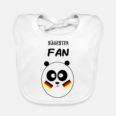 Fan Section Sweetest fan - Baby Bib