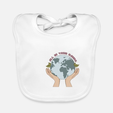 Die Save the planet world earth day plant trees - Baby Bib