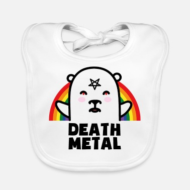 Metal Death Metal Stinky Bear - Haklapp