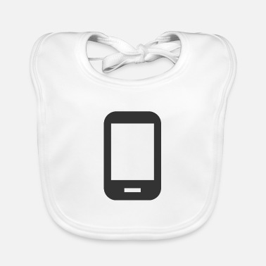 Android Android | Black | gift - Baby Bib