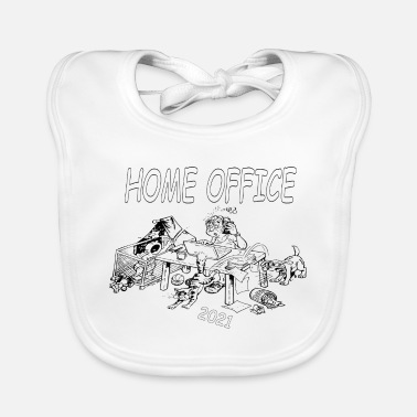 Home Office Man home office - Baby Bib