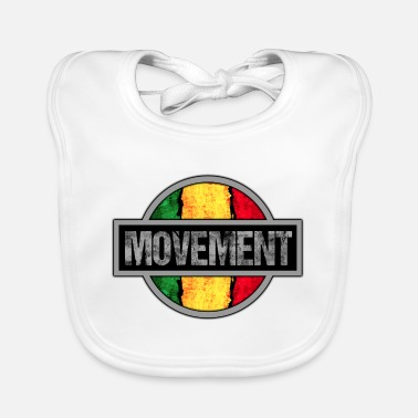 Movement Reggae Movement - Baby Bib