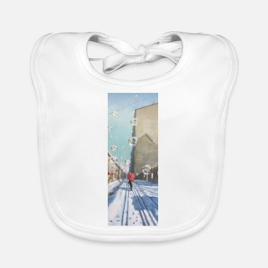 Wall The Wall - Baby Bib