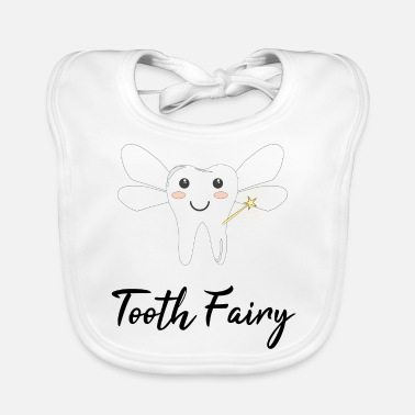 Tooth Tooth fairy / gift idea - Baby Bib