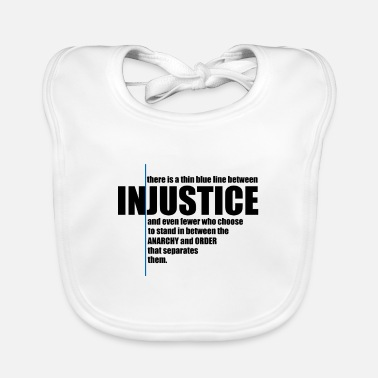 Injustice INJUSTICE! GIFT IDEA - Baby Bib