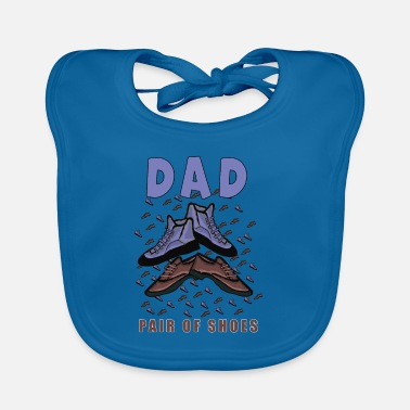 dad father dad father's day gift - Baby Bib
