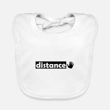 Distance Distance and distance - Baby Bib