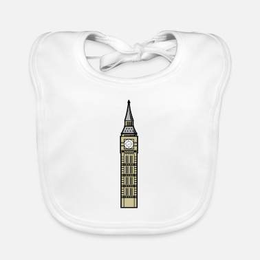 Big Big Ben London - Baby Bib