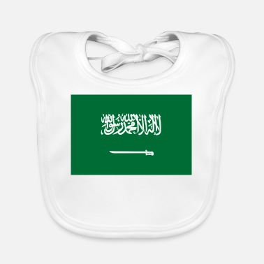 Kingdom National flag of Saudi Arabia - Baby Bib