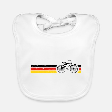 National Vélo National Colors National Germany Gift - Bavoir Bébé