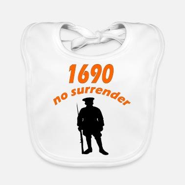 no surrender - Baby Bib
