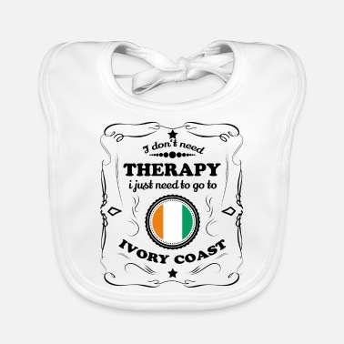Coast DON T NEED THERAPY GO IVORY COAST - Baby Bib