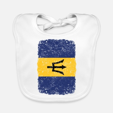 Home Country roots home country roots home Barbados - Baby Bib