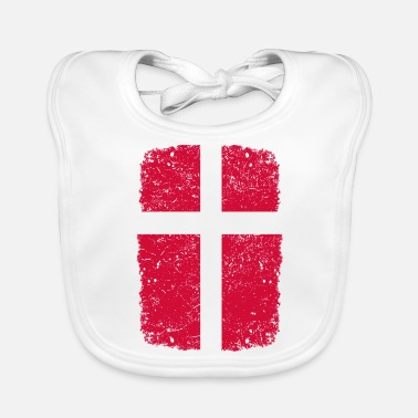 Home Country roots home country roots home Denmark - Baby Bib