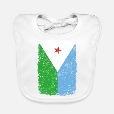 Home Country roots home country roots home Djibouti - Baby Bib