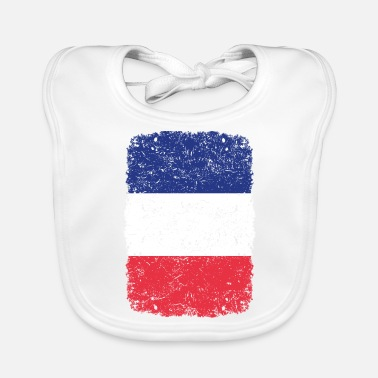 Home Country roots home country roots home France - Baby Bib